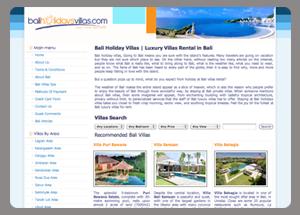 Bali Holidays Villas
